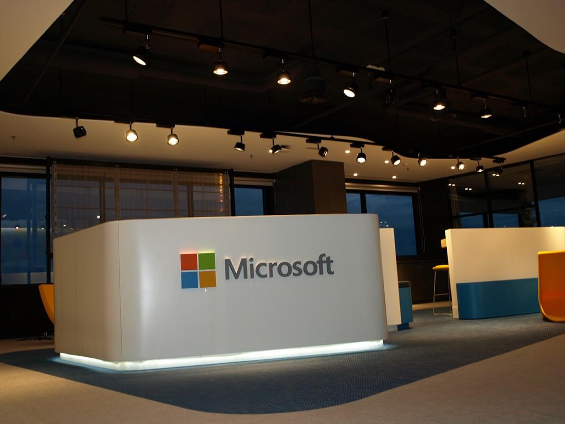 Espirea rehabilitaci n oficinas microsoft en barcelona for Oficinas de microsoft